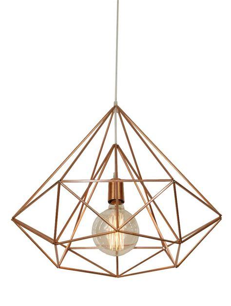 geometric pattern hanging light 1000 ideas about copper light fixture on pinterest
