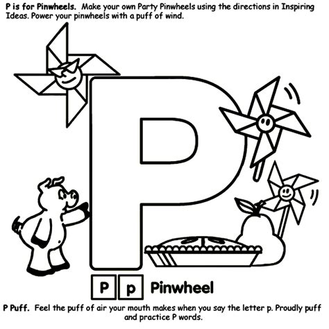 crayola coloring pages letters alphabet p coloring page crayola com