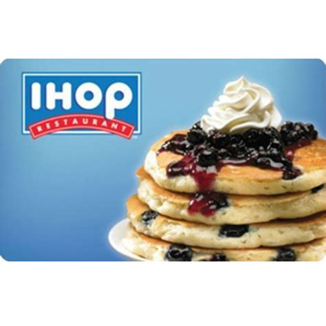 50 Off Gift Cards - 20 off 50 ihop gift card only 40 mybargainbuddy com
