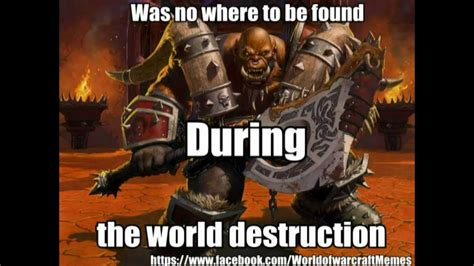 funny world of warcraft memes