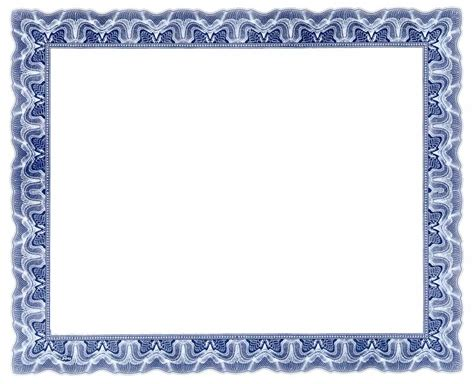 10 best images of certificate borders and frames