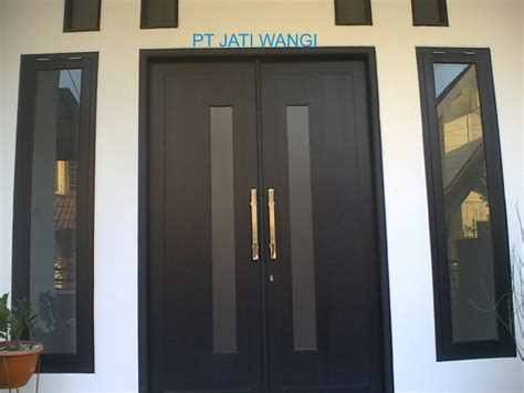 Desain Pintu Depan Rumah Sederhana | desain contoh pintu depan rumah minimalis renovasi rumah net