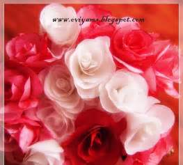 Roses Out Of Tissue Paper - oviyam glass painting crafts tissue paper roses