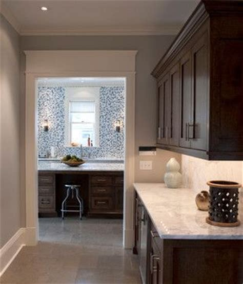 Brown Cabinets Espresso Cabinets Crown Moulding Marble