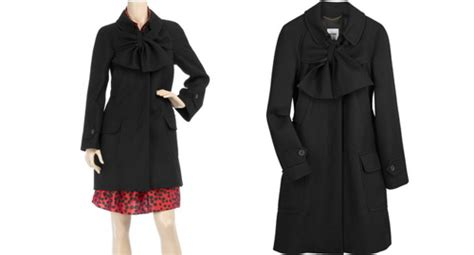 Summer To Fall Coats I Its Just With Me by Moschino Bow Front Coat For Autumn Retro To Go