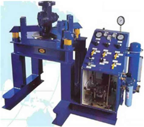 pressure safety valve test bench valve testing machine manufacturers suppliers traders in