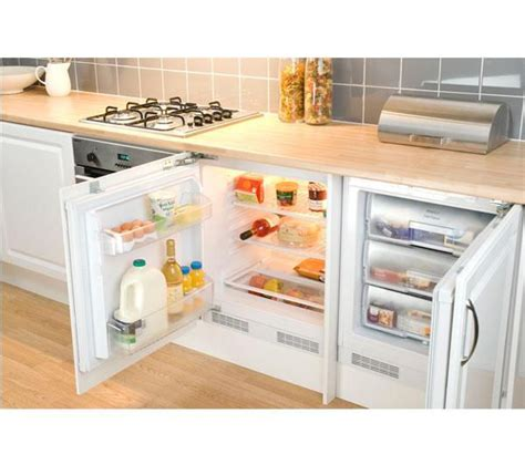 under cabinet fridge freezer buy beko bl21 integrated undercounter fridge free