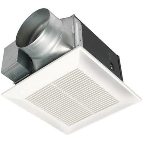 panasonic fans home depot panasonic whisperceiling 150 cfm ceiling exhaust bath fan