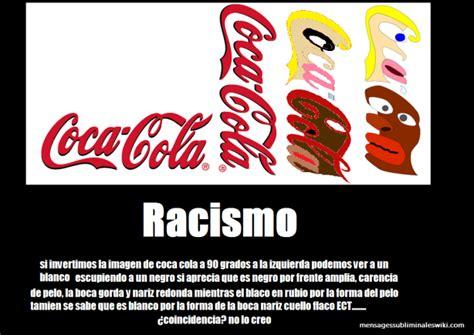 imagenes subliminales coca cola archivo coca cola racista png mensajes subliminales wiki