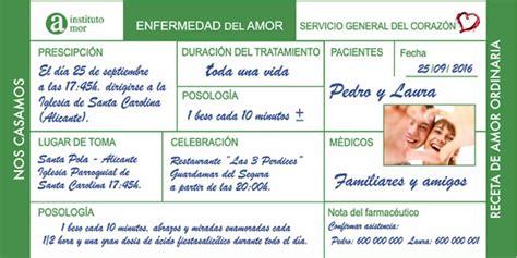 imagenes formulas medicas invitaci 243 n boda receta m 233 dica impresi 243 n gratis