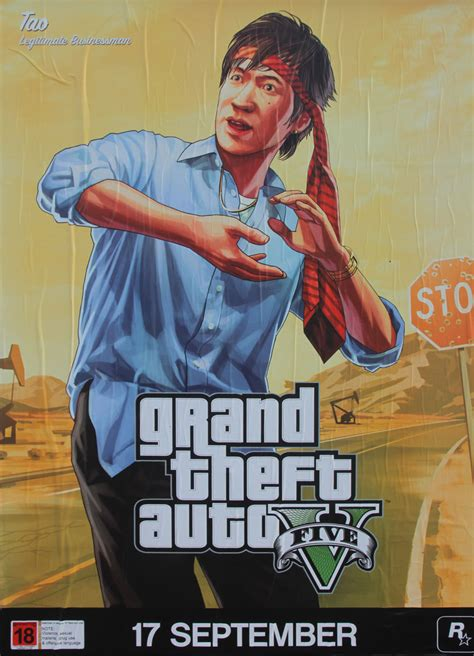 1d Poster 6 gta 5 posters introduce new characters