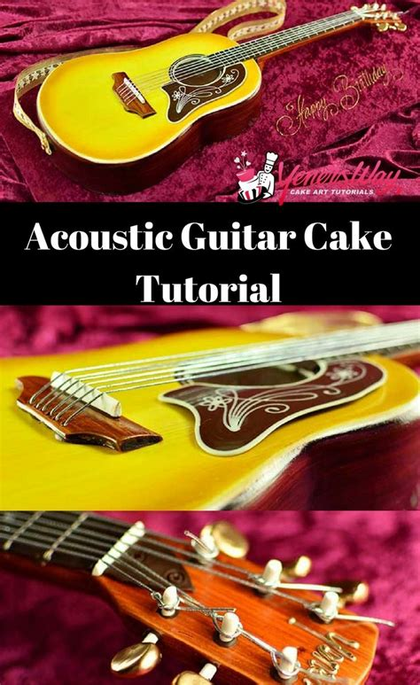 tutorial guitar real 25 best ideas about guitar cake on pinterest cake