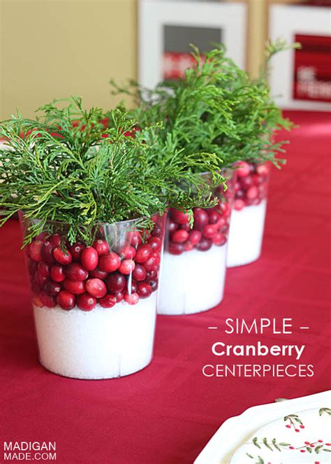 Decorating With Cranberries For by 30 Decorating With Cranberry All About