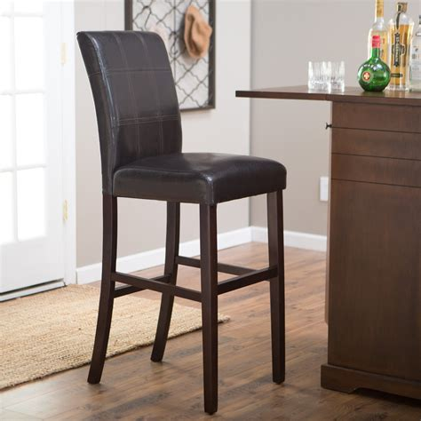 Palazzo 34 Inch Bar Stool Brown by Palazzo 34 Inch Bar Stool Brown Bar Stools At Hayneedle