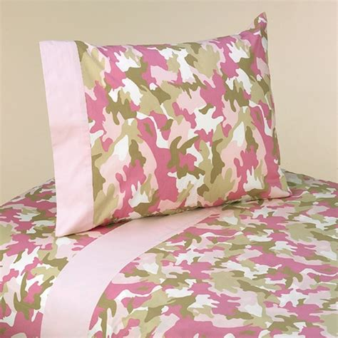 Pink Camo Bed Set by 3 Pc Sheet Set For Camo Pink Bedding Collection Only