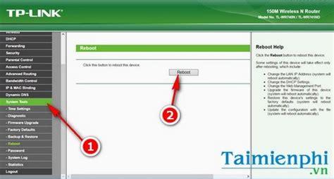 tool reset modem c 225 ch reset modem wifi tp link thiết lập lại modem tp link
