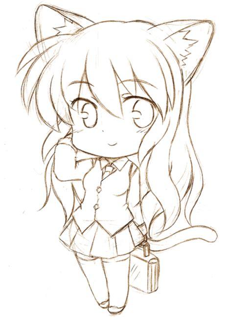 imagenes para dibujar kawaii anime chibi a l 225 piz chibi kawaii pinterest chibi l 225 piz y