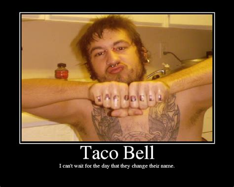 taco bell tattoo oh hai next jk but it s 1 am and i ve the