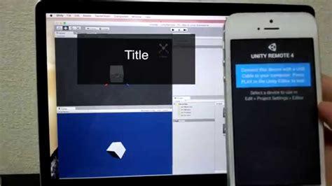 Tutorial Unity Remote 4 | unity remote 4 tutorial 使い方 実機テスト youtube