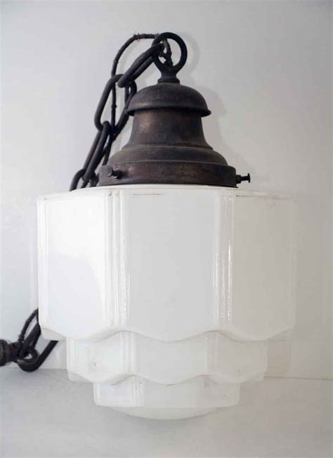 milk glass pendant light milk glass pendant light with chain olde good things