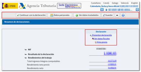 Simulador Renta 2016 Agencia Tributaria | borrador agencia tributaria 2016 newhairstylesformen2014 com