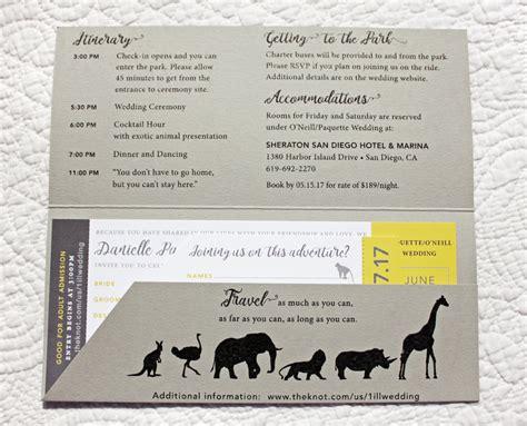 Zoo Themed Wedding Invitations by Zoo Themed Wedding Invitations Cogimbo Us