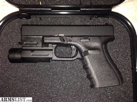 glock 23 tactical light armslist for sale ft glock 23 4 with tactical light