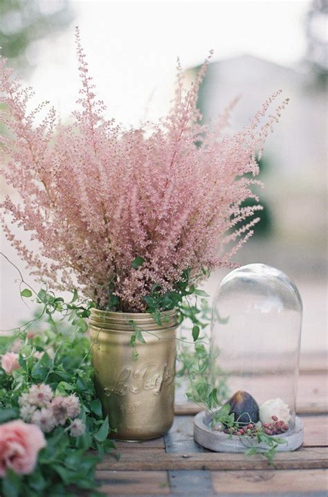 trending  dusty rose wedding color ideas