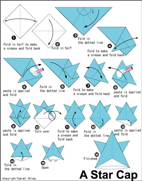 Easy Origami Hat - origami hat do origami