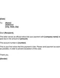Reply To A Payment Reminder Letter Late Payment Reminder Template