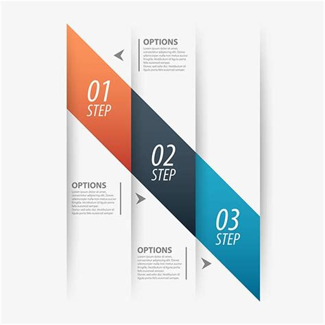 Origami Company - origami business vector banners