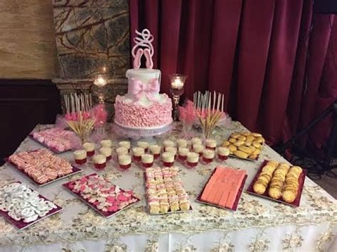 what to put on a dessert table dessert table for a baby shower