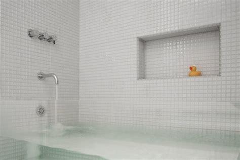 glass bathtub  stunning
