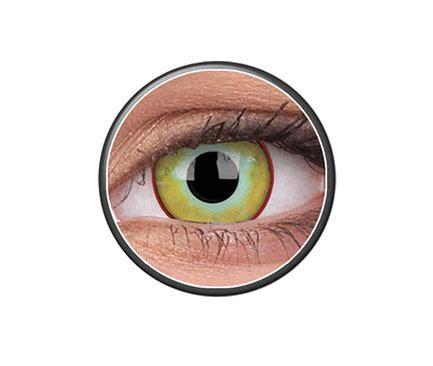 phantasee ® fancy lens yellow plague   xpress lenses