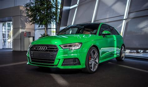 3 Door Car by 2017 Audi S3 3 Door In Porsche Green Is A Purist S Car