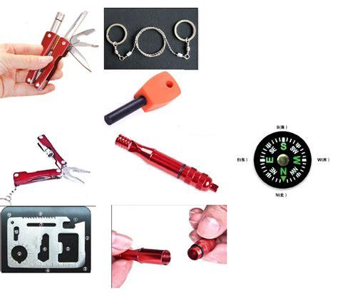 Gergaji Tali Portable Survival Tool kotak perlengkapan darurat outdoor kecil praktis dan mudah dibawa kemana saja harga jual