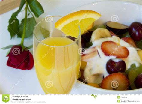 rose themed breakfast romantic breakfast in bed stock photo image of flower