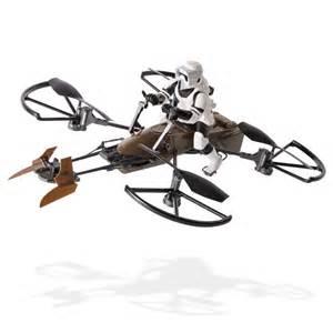 controlled drone spin master air hogs wars speeder bike remote