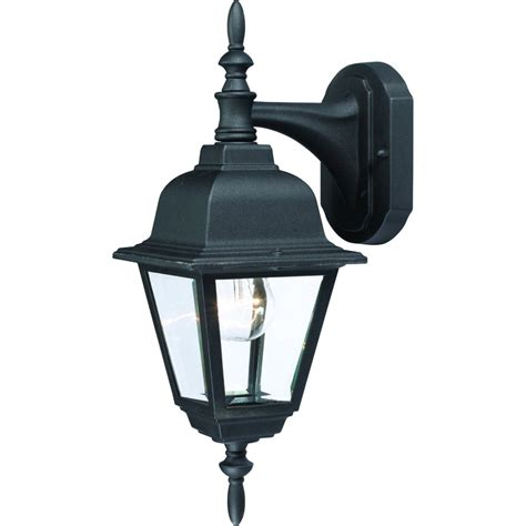 outdoor patio porch black exterior light fixture