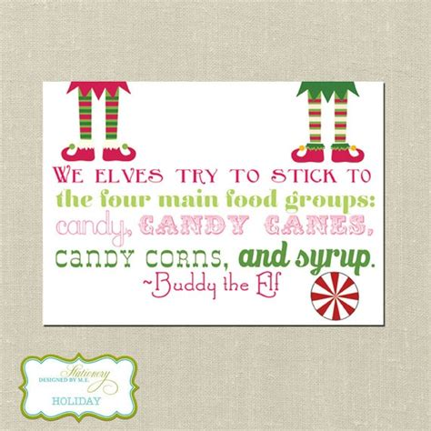 printable elf quotes pin by crystal major on printables pinterest