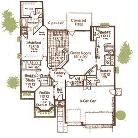 Very Open Floor Plans by Oklahoma Home Builder Yukon And Mustang Oklahoma Home