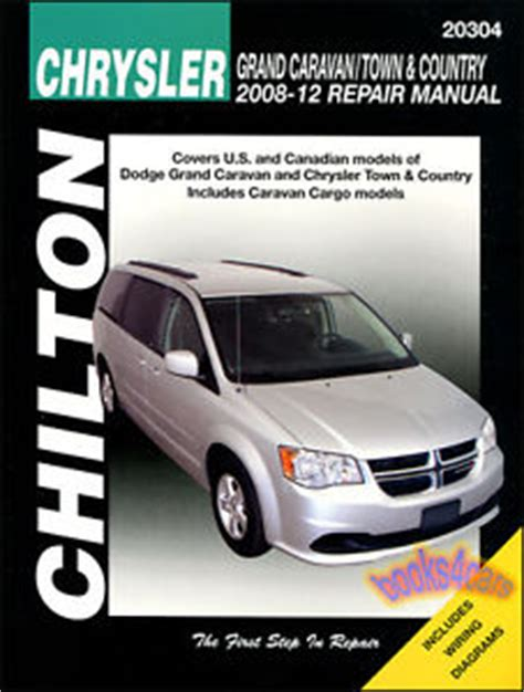 car maintenance manuals 2008 dodge caravan user handbook chrysler town country dodge grand caravan repair manual van chilton 2008 2012