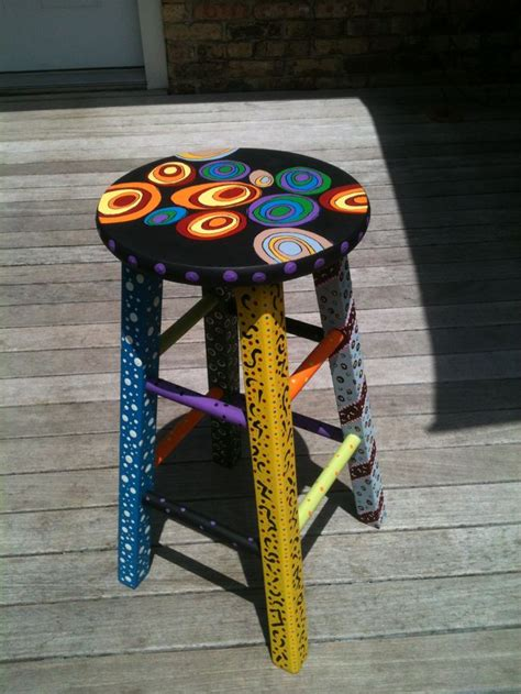 Painted Stools by 25 Best Ideas About Painted Stools On