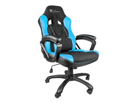 Pc Gaming Chair Fotel Dla Gracza Genesis Sx33 Black Blue Nitro330 Sklep