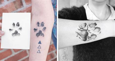 pawprint tattoo tattoo collections