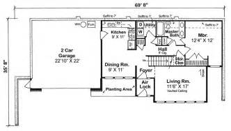 Berm Homes Plans Gallery Earth Sheltered Home Plans With Basement