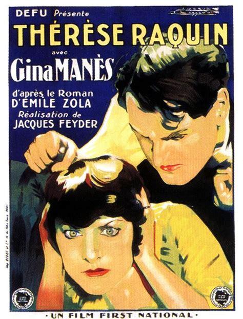 Theresa Emile Zola Original Hardcover th 233 r 232 se raquin 1928 filmaffinity
