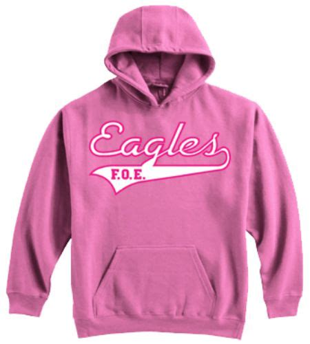 Cgm Swt Back Pink lindback distributing shopping cart licensed supplier of eagle merchandise hooded sweatshirt