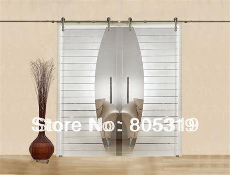 Modern Interior Glass Sliding Barn Door Hardware Double Buy Sliding Barn Doors Interior