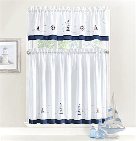 nautical valances coastal valances